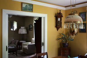 interior paint on dining room walls, ceiling and trim