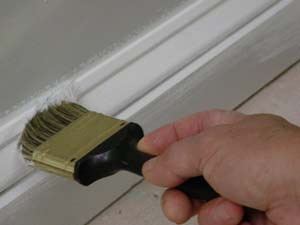 painting trim molding first