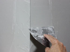 skim coating drywall corner bead